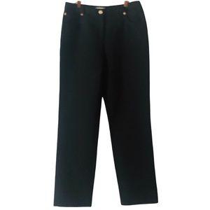 St.John Sport NWT Black Straight Leg Trouser 10